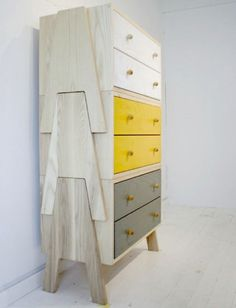 I really like how these drawers can be stacked to save space or just get higher as say a child grows