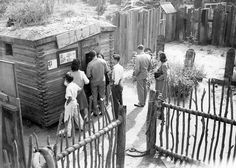 Ghost Town Jail, Knott's Berry Farm, circa 1941   Flickr - Photo Sharing! Photo courtesy Orange County Archives