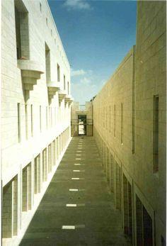 Supreme Court Building Outside Corridors.