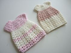 Davida Gown - Free Crochet Pattern for micro-preemies and Angel Babies ~ LINK CORRECT and pattern is FREE when I checked on To fit weeks gestation Crochet Doll Dress, Crochet Doll Clothes, Doll Clothes Patterns, Clothing Patterns, Crochet Dresses, Crochet For Kids, Free Crochet, Knit Crochet, Ravelry Crochet