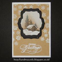 Sandma's Handmade Cards: Krafty Christmas