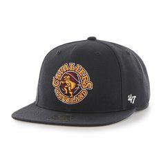 Cleveland Cavaliers Sure Shot Navy 47 Brand Adjustable Hat dfd482dc41d7