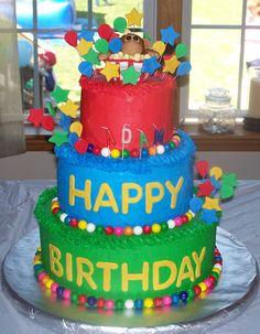 Circus Themed Birthday Cakes | Pin Carnival Theme Cake Custom Cakes Virginia Beach Va Bakery On ...