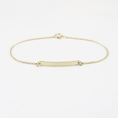 Simple bar bracelet. Take 20% off your order with the code: MISSMOSS at checkout. (Expires 6/7 at 12pm)