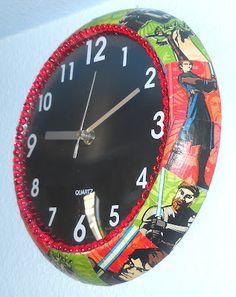Star Wars wall clock!