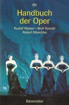 Handbuch der Oper * Kloiber Maschka Konold DTV 2002