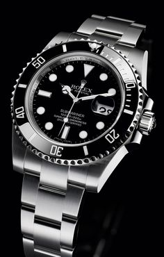 Rolex Oyster Perpetual Submariner diving watch