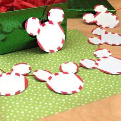 Here's a holiday decoration inspired by a favorite pastime shared by Disney fans everywhere -- discovering hidden Mickeys.