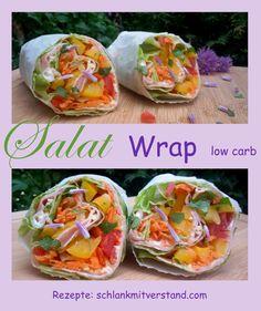 die besten low carb Wraps - richtig lecker auch ohne Teigfladen... #lowcarb #abnehmen #Food #fitnessfood #healthy #healthyfood #Rezepte #essen #schlankmitverstand