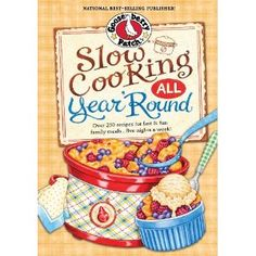 My recipe for Slow-Cooker Turkey Chili will be published in this one!!  Slow Cooking All Year 'Round: More than 225 of our favorite recipes for the slow cooker, plus time-saving tricks & tips for everyone's favorite kitchen helper!