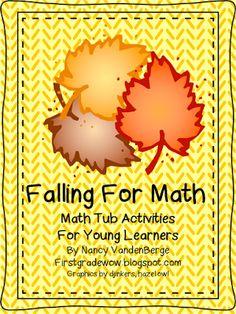 First Grade Wow: Falling For Math