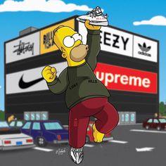 Simpsons Supreme Wallpapers Wallpaper Cave inside The Simpsons Supreme Wallpapers - All Cartoon Wallpapers Simpson Wallpaper Iphone, Cartoon Wallpaper, Rap Wallpaper, Wallpaper Downloads, Girl Fashion Style, Fashion Shoes, Male Fashion, Simpsons Supreme, Pintura Hippie