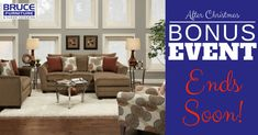 Only a few days left! Hurry in for our After Christmas Bonus Event! Click for more details!