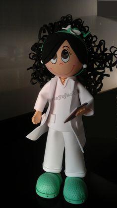 Fofucha Enfermera. ATS.