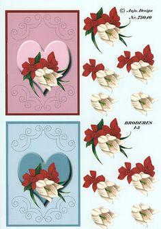Borduur knipvel Fuchsia