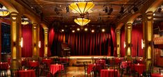 Cirque de Boudoir is celebrating its seventh anniversary! What better way to celebrate where burlesque is today then to return to its root. Bar Interior, Interior Exterior, Cabaret Theater, Cabaret Musical, Bar Deco, Jazz Lounge, Lounge Party, Design Bar Restaurant, Stage Curtains