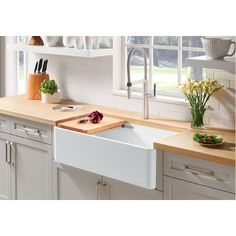 Uplifting Kitchen Remodeling Choosing Your New Kitchen Cabinets Ideas. Delightful Kitchen Remodeling Choosing Your New Kitchen Cabinets Ideas. Farmhouse Sink Kitchen, New Kitchen Cabinets, Modern Farmhouse Kitchens, Rustic Kitchen, Kitchen Decor, Kitchen Ideas, Kitchen Sinks, Kitchen Backsplash, Backsplash Ideas