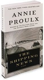 The Shipping News: gripping, springy prose -- unique.  Google Image Result for http://shelflove.files.wordpress.com/2011/04/shipping-news.jpg