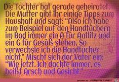 lustiges Bild 'Tochter.jpg' von WienerWalzer. Eine von 11217 Dateien in der Kategorie 'klasse Sprüche und Witze' auf FUNPOT.