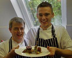 Head Chef Charlie Curran, Sous Chef Adam Harper, Beauchief