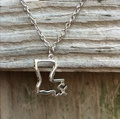 Silver Louisiana Necklace
