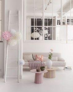 Pastel, lente kleuren in huis