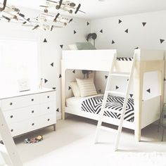 Oeuf Perch Bunk Bed// simple #minimode