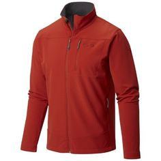 Mountain Hardwear Fairing Softshell Mens Sz L, Men's, Size: Large, Red