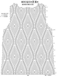 Dress stitch crochet for kids Irish lace, crochet, crochet patterns, clothing and decorations for the house, crocheted. Crochet top with chart This Pin was discovered by roc Pull Crochet, Gilet Crochet, Crochet Cardigan Pattern, Crochet Shirt, Crochet Jacket, Crochet Diagram, Crochet Motif, Irish Crochet, Crochet Designs