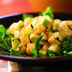 Jicama & Cucumber Salad with Red Chile Dressing - EatingWell.com