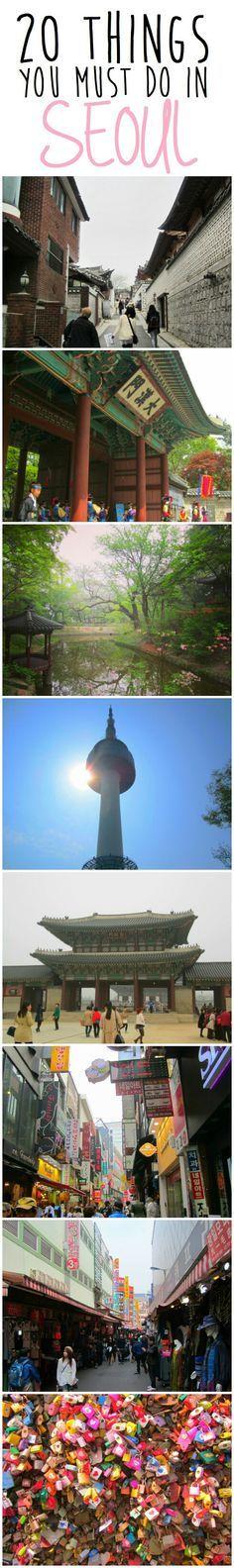 20 cosas que debe hacer en Seúl, Corea del Sur