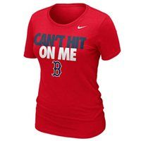 New Arrival: Nike Boston Red Sox Ladies Can't Hit on Me Slim Fit T-Shirt **WAAANNNT THIS**