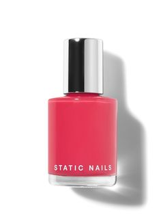 NON-TOXIC | 8-FREE | VEGAN | CRUELTY-FREE | MADE IN USA | PATENTEDWHAT IT IS:Static Nails patented Liquid Glass Lacquer is a breakthrough formula loaded with rich pigments and natural antioxidants for a healthy manicure that actually lasts up to 10 days without chipping when paired with Liquid Glass Primer and Top Coat.  3X LONGER WEAR: In a comprehensive study, 100% of participants saw 3x longer wear compared to other leading brands. KEY INGREDIENTS:ROSE HIP: Promotes nail growthMARULA OIL… Dry Nails, Glue On Nails, Chrime Nails, Natural Glow, Natural Nails, Free Patent, Broken Nails, Chipping Tips, Cuticle Oil