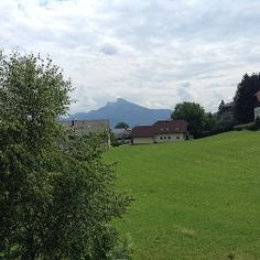 View from race headquarters of the www.mozart100.com in Austria!