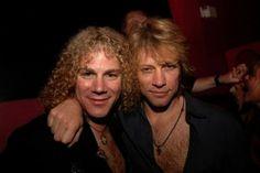 David Bryan and a rather drunk-looking Jon Bon Jovi lol
