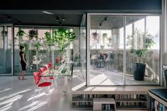 Transformation of an industrial setting into a flexible live or work space - CAANdesign | Architecture and home design blog