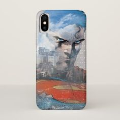 Superman Stare iPhone X Case - diy cyo customize create your own personalize