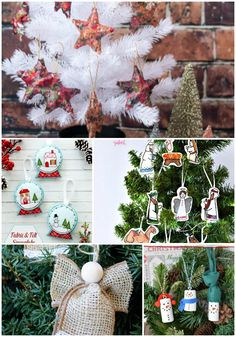 5 DIY Christmas Tree Ornaments