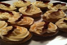 Maple Bacon Cupcakes. Photo by PBFimo