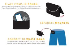 2015 Buddy Pouch (3 Colors)