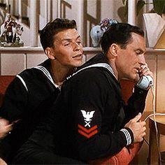 Gene Kelly and Frank Sinatra
