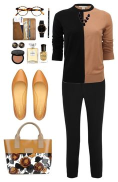 Honey and mustard by mesmeric-paradise on Polyvore featuring Michael Kors, Chloé, Nine West, NUR, CO, Marc by Marc Jacobs, Chanel, John Lewis, François Pinton and Bobbi Brown Cosmetics