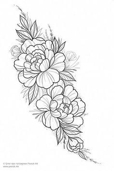 Mini Tattoos, Leg Tattoos, Arm Tattoo, Body Art Tattoos, Small Tattoos, Sleeve Tattoos, Tattoo Art, Floral Tattoo Design, Flower Tattoo Designs
