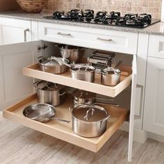 The 12 Best Small Kitchen Remodel Ideas, Design Photos - Browse photos of Small kitchen designs. Discover inspiration for your Small kitchen remodel or upgrade with ideas for storage, organization, layout an. Farmhouse Kitchen Cabinets, Painting Kitchen Cabinets, Diy Kitchen, Kitchen Storage, Kitchen Decor, Kitchen Ideas, Kitchen Organization, Kitchen Designs, Kitchen Cabinetry