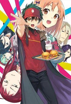 I Love Anime, All Anime, Manga Anime, Awesome Anime, Devil Part Timer, Saiunkoku Monogatari, Hataraku Maou Sama, Otaku, Ao Haru