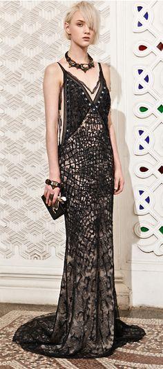 Roberto Cavalli Resort 2014, gorgeous gown