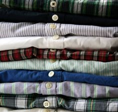 An Oxford Education: A classic button down oxford is a wardrobe staple.