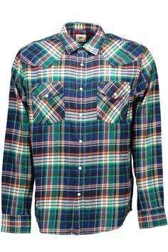 Camicia Uomo Lee (BO-L643DBBA GREEN) colore Verde