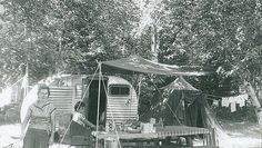 Flashback Friday, we take a look back into Camping and RVing in 1955.