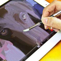umm yes please! ipad paintbrush around $39 #artchurch